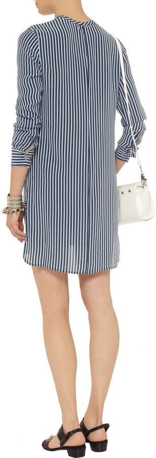 Equipment Owen silk shirt dress
