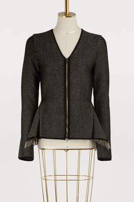 Roland Mouret Fringed jacket