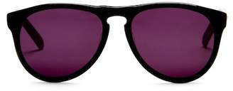 Cat Eye AQS Banks 53mm Rounded Sunglasses