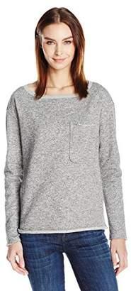 ATM Anthony Thomas Melillo Women's Extended Shoulder Sparkle Sweatshirt