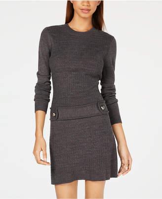 BCX Juniors' Solid Sweater Dress