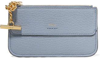 Chloé Drew Textured-leather Cardholder