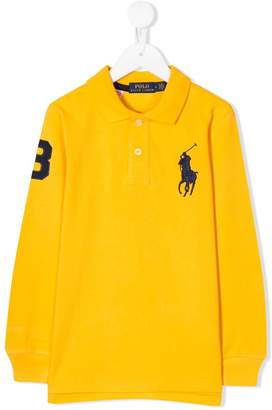 Ralph Lauren Kids Big Pony embroidered polo shirt