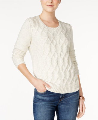 Tommy Hilfiger Lillian Cable-Knit Sweater, Only at Macy's $79.50 thestylecure.com