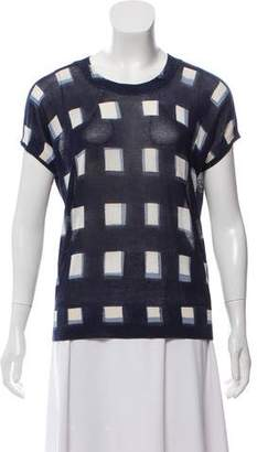 Tory Burch Knit Patterned Top
