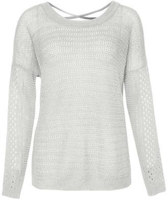 Dex Criss Cross Back Sweater $69 thestylecure.com
