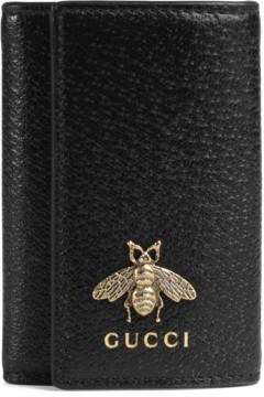 Gucci Animalier leather key case