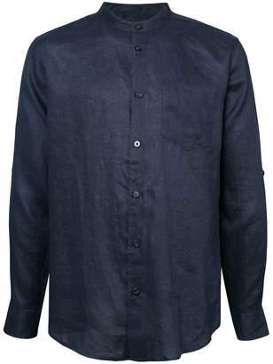 Onia Eddy mandarin collar shirt