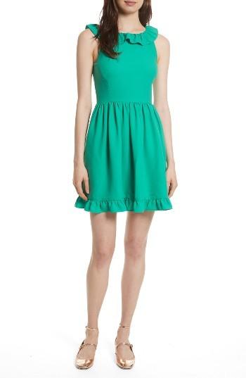Women's Kate Spade New York Ruffle Back Minidress