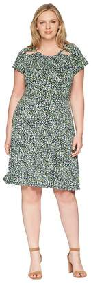 MICHAEL Michael Kors Size Tiny Wildflower Dress Women's Dress