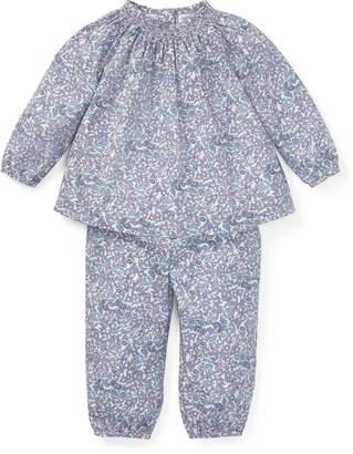 Ralph Lauren Floral Top & Pant Set