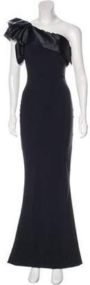 Chiara Boni One-Shoulder Evening Dress