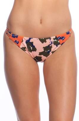 Bikini Lab The Feline Fine Strappy Hipster Bikini Bottoms