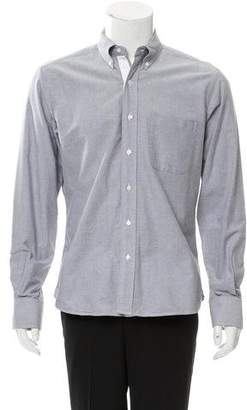 Thom Browne Woven Button-Up Shirt