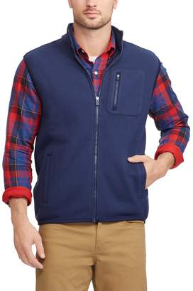 Chaps Men's Regular-Fit Sweater Fleece Vest
