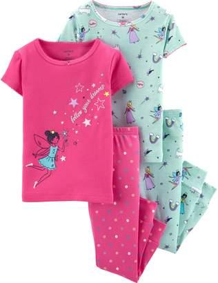 Carter's Toddler Girl Fairy Princess Tops & Bottoms Pajama Set