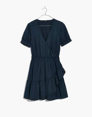 Madewell Ruffle-Wrap Dress