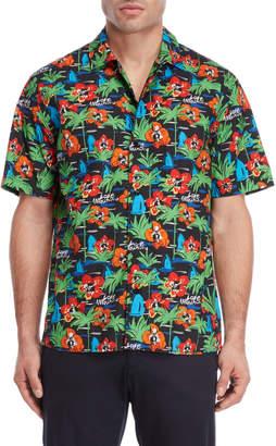 Love Moschino Printed Woven Shirt