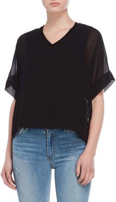 Jolie Sheer Kimono Sleeve Top