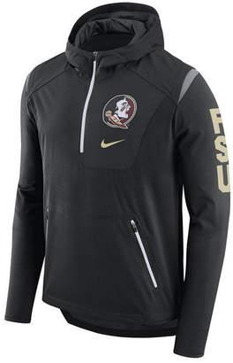 Nike Men's Florida State Seminoles Alpha Fly Rush Quarter-Zip Hoodie