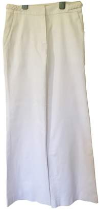Christian Dior White Cotton Jeans for Women Vintage