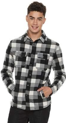 Men's Urban Pipeline Sherpa-Lined Fleece Button-Down Shirt