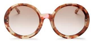 Bottega Veneta Women's Round Sunglasses, 64mm