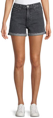 Paige Sarah High-Rise Denim Shorts