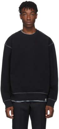 Carhartt Work In Progress Black Nebraska Sweatshirt