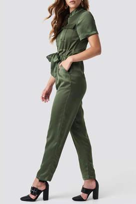 Glamorous Khaki Jumpsuit