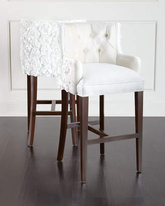 Haute House Tiffany Tufted Barstool