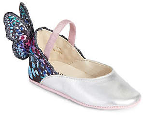 Sophia Webster Baby's Chiara Leather Butterfly Flats