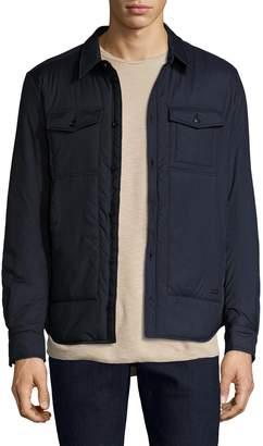 Woolrich Men's Solid Comfort Shirt Jacket