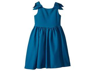 Janie and Jack Special Occasion Bow Sleeve Dress (Toddler/Little Kids/Big Kids)