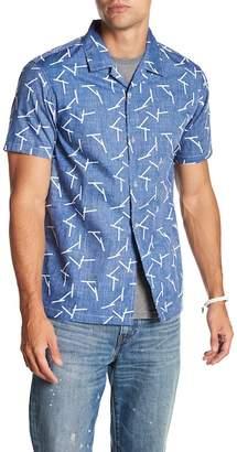 Tavik Villa Sticks Button-Up Regular Fit Shirt