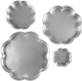 Wilton 4-pc. Flower Petal Tiered Cake Pan Set