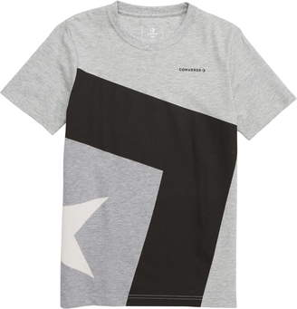 e64a43ac23cf Converse Spliced Star Chevron T-Shirt