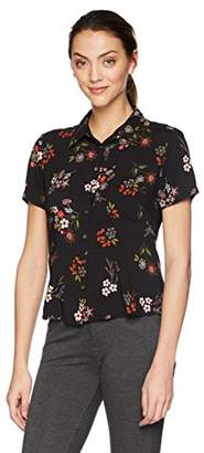 Velvet by Graham & Spencer Women's Connie Floral Button Down Shirt