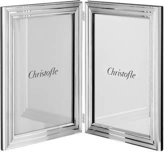 "Christofle Filets Double Photo Frame (6"" x 4"")"