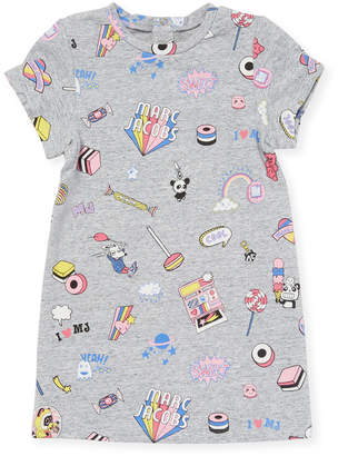 Little Marc Jacobs Graphic T-Shirt Dress