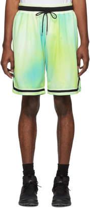 John Elliott Multicolor Sour Skittles Tie-Dye Shorts