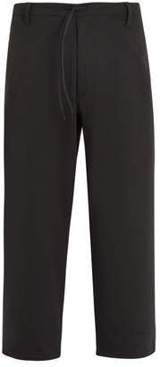 Y-3 Y 3 X James Harden Wide Leg Drawstring Trousers - Mens - Black
