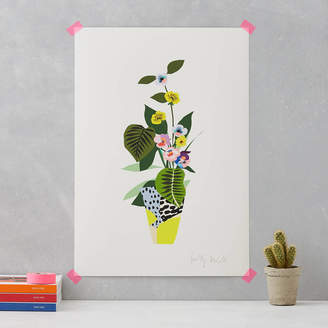 STUDY Kitty McCall Botanical Vase Print