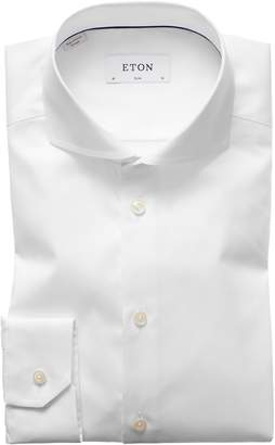 Eton Extra Slim Fit Solid Dress Shirt