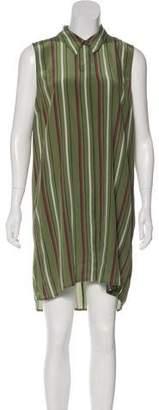 Elizabeth and James Silk Sleeveless Dress w/ Tags