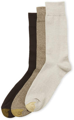 Gold Toe 3-Pack Cotton Crew Socks