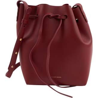 Mansur Gavriel Bucket Bag Red Leather Handbag