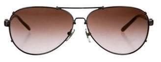 Dolce & Gabbana Aviator Gradient Sunglasses