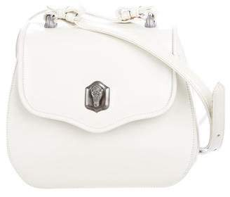 Kieselstein-Cord Box Frame Leather Shoulder Bag
