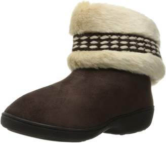 6837d66782863 Isotoner Women s Erica Microsuede Boot Slippers
